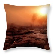 Fine Art Landscape Throw Pillow