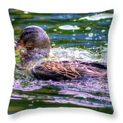 Hannover Zoo Germany Throw Pillow
