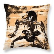 Jedi Star Wars Art Throw Pillow