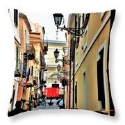 La Maddalena -sardinia Throw Pillow