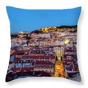 Lisbon, Portugal Throw Pillow