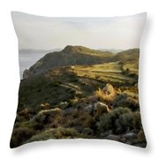 Plan E Landscape Throw Pillow