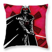 Star Wars Episode 2 Art Throw Pillow