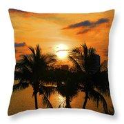 18- Sunrise Surprise Throw Pillow