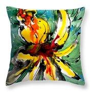 The Divine Flower Throw Pillow