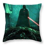 Video Star Wars Art Throw Pillow