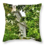 1845 Throw Pillow