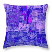 1848 Abstract Thought Throw Pillow