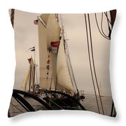 1871 In The Wind Throw Pillow