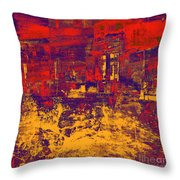 1872 Abstract Thought Throw Pillow