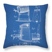 1883 Beer Faucet Design Throw Pillow