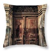 1891 Door Cyprus Throw Pillow