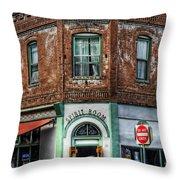 1898 Hotel Connor - Jerome Arizona Throw Pillow