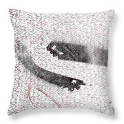 18x9.15-#rithmart Throw Pillow
