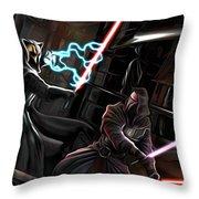 2 Star Wars Art Throw Pillow