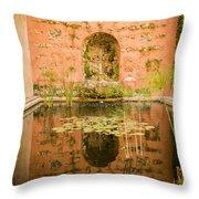 Alcazar Of Seville - Seville Spain Throw Pillow