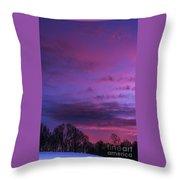 Appalachian Afterglow Throw Pillow