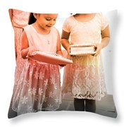 Ashley's Quinceanera Throw Pillow