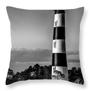 Bodie Island Lighthouse Obx Cape Hatteras North Carolina Throw Pillow