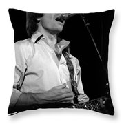 #19 Enhanced Bw Throw Pillow