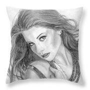 19 Throw Pillow