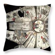 Saga Star Wars Art Throw Pillow