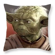 Saga Star Wars Poster Throw Pillow