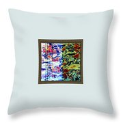Software Abstract Throw Pillow