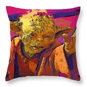 Star Wars At Art Throw Pillow
