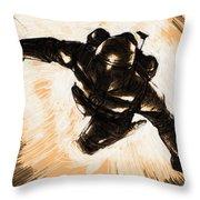 Star Wars Episode 6 Art Throw Pillow