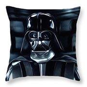 Star Wars Galaxies Poster Throw Pillow