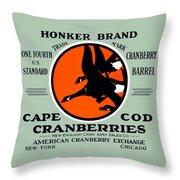 1900 Honker Cranberries Throw Pillow