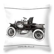 1903 Packard Throw Pillow by Jack Pumphrey