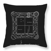 1904 Magie Landlords Board Game Throw Pillow