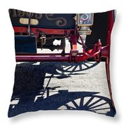 1905 Sears Motor Buggy Throw Pillow