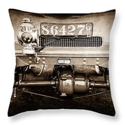1906 White Model F Roi Des Belges Touring Rear Lamp -0058s Throw Pillow