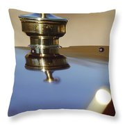 1907 Panhard Et Levassor Hood Ornament Throw Pillow