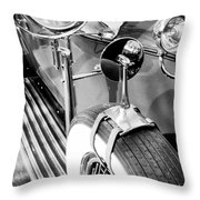 1907 Rr Silver Ghost - The 57 Millions Dollar Car Throw Pillow