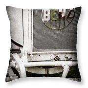 1908 Benz Prince Heinrich Two Seat Race Car Grille Emblem -1696ac Throw Pillow