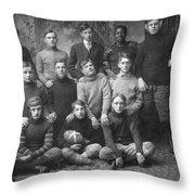 1908 Football Team Throw Pillow