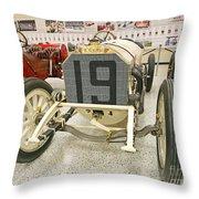 1908 Mercedes Race Car Throw Pillow