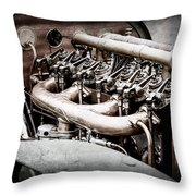 1910 Benz 22-80 Prinz Heinrich Renn Wagen Engine -1702ac Throw Pillow