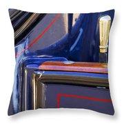 1910 Pope Hartford T Door Latch Throw Pillow