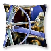 1910 Pope Hartford T Steering Wheel Throw Pillow