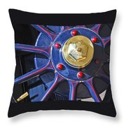 1910 Pope Hartford T Wheel Throw Pillow
