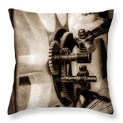 1912 Packard 30 7 Passenger Touring Wheel -0026s Throw Pillow