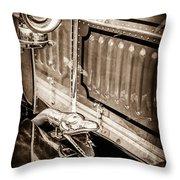1912 Rolls-royce Silver Ghost Rothchild Et Fils Style Limousine Snake Horn -0711s Throw Pillow