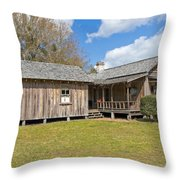 1912 Simmons Farm In Christmas Florida Throw Pillow