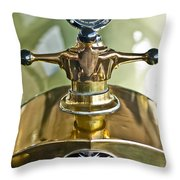 1917 Owen Magnetic M-25 Hood Ornament 2 Throw Pillow