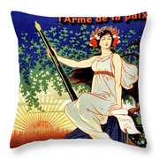 1919 Waterman Fountain Pen Throw Pillow